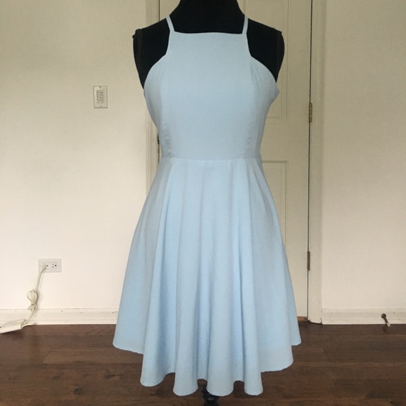 1860b1aab9 Lulu s Dresses   Skirts - Lulu s Call to Charms Light Blue Skater Dress